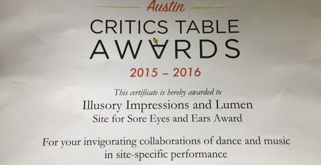AADT Critics Table Award